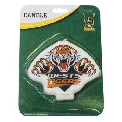 tigers candles nrl football