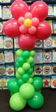 freestanding flower balloon