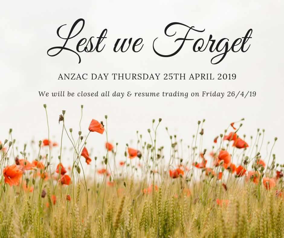 Anzac Day Local Services