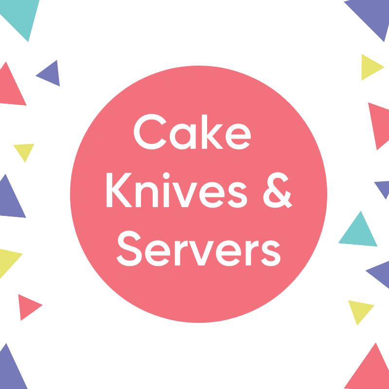 Cake Knives & Servers