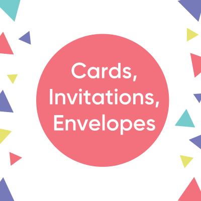 Cards, Invitations & Envelopes