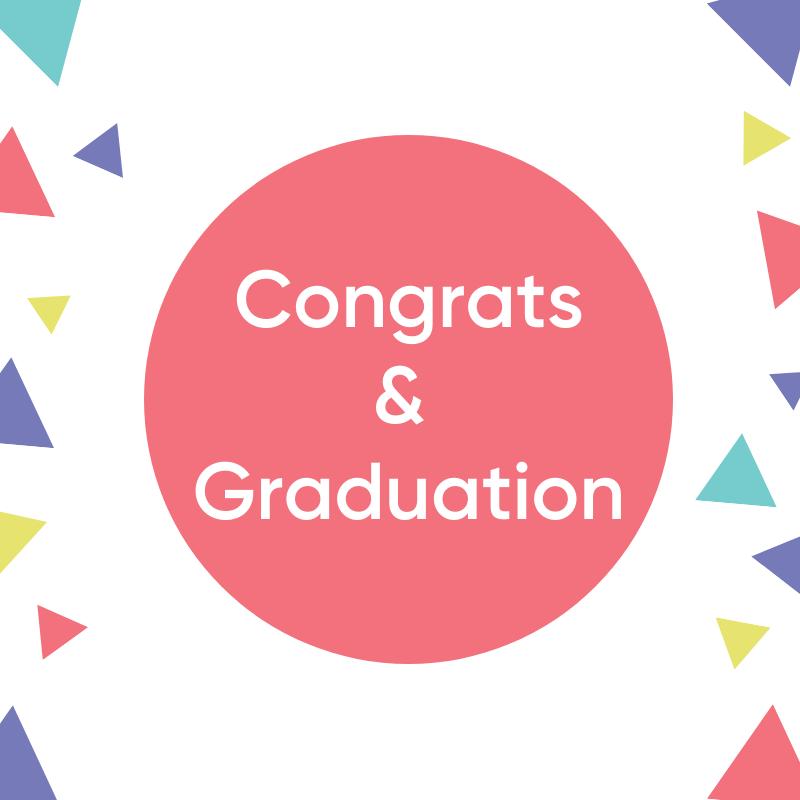Congrats & Graduation