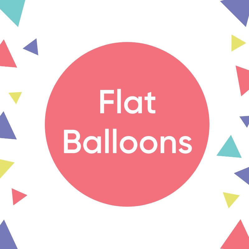 Flat Balloons