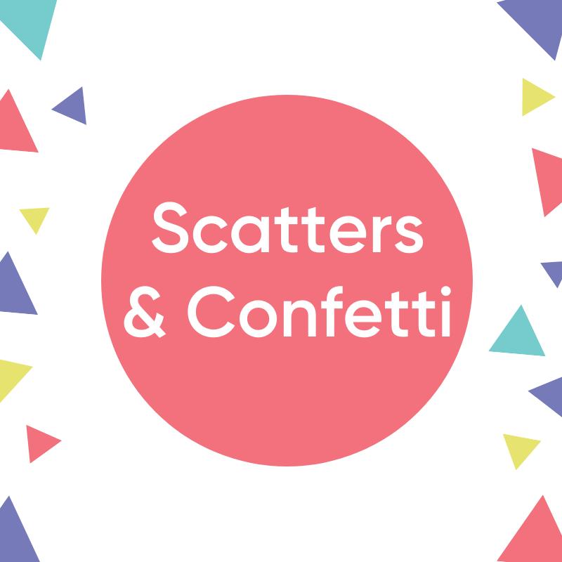 Scatters & Confetti